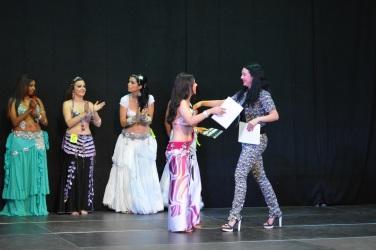 lorena saad recibe 3er premio